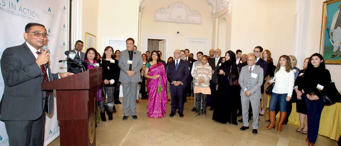 "Reception to launch the special exhibition ""Ethics in Action"" on Feb 8, 2018, at the Consulate"