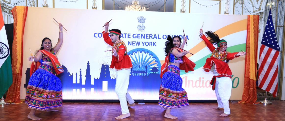 Consulate General of India, New York & Federation of Indian Association (FIA -Tri-State area) along with various Gujarati organizations from the U.S.A had celebrated Gujarat Divas on May 02, 2018 at Consulate General of India in New York.