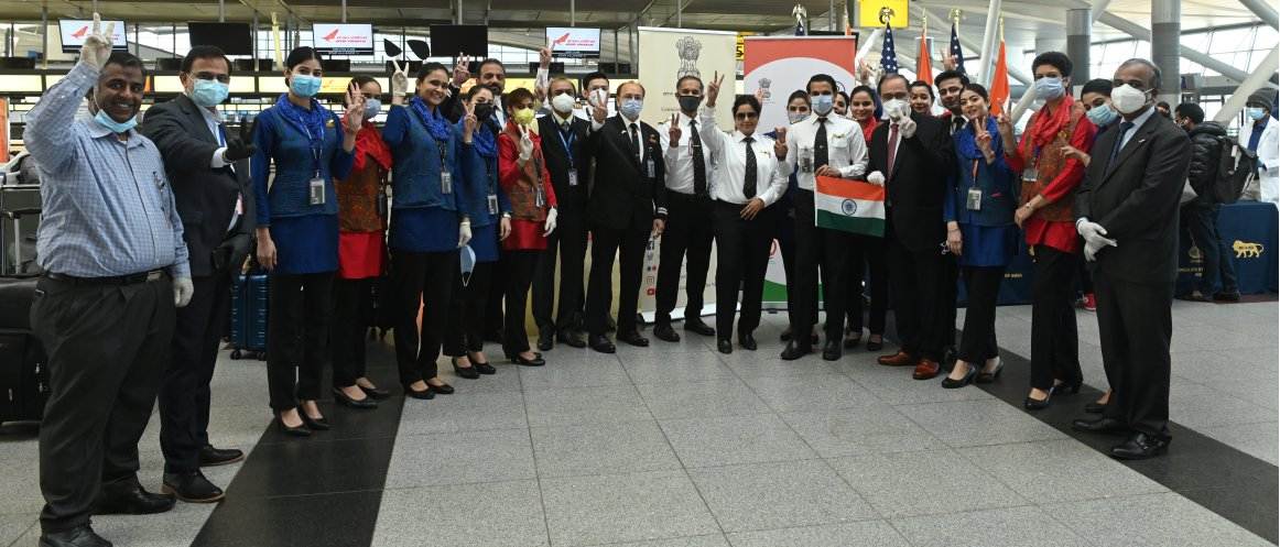 Vande Bharat Mission (Phase 2): Air India Special Evacuation Flight from New York (USA) to Delhi/Chandigarh on May 21, 2020