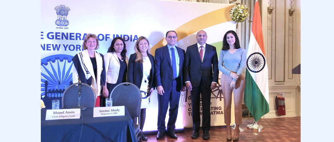 """India As An Investment Destination"" on November 12, 2018 at the Consulate"