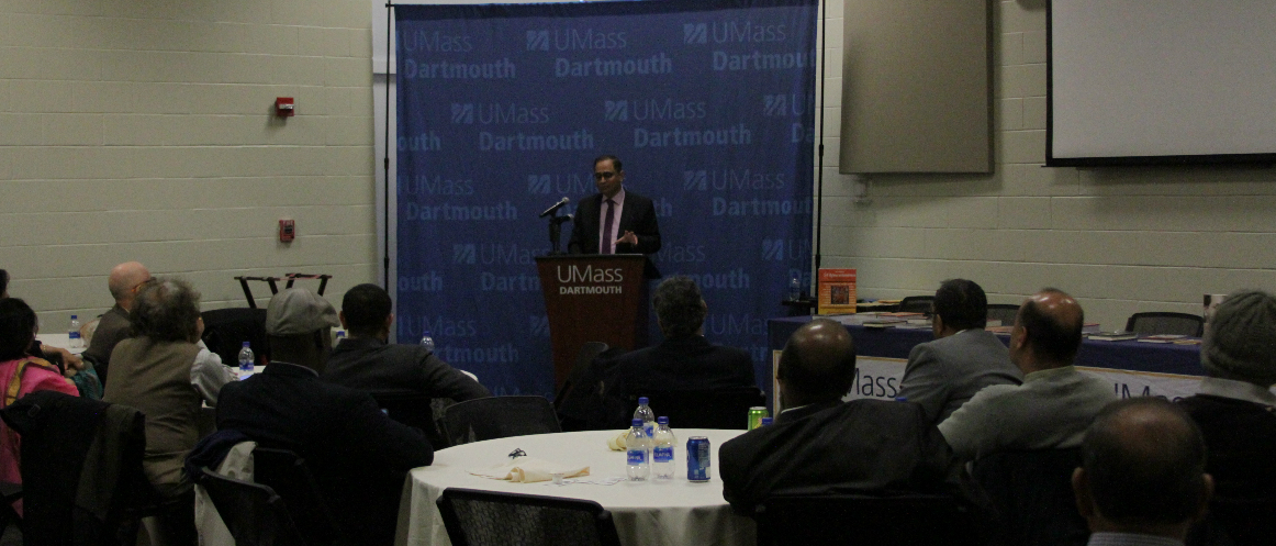 Inauguration of India Corner at University of Massachusetts, Dartmouth
