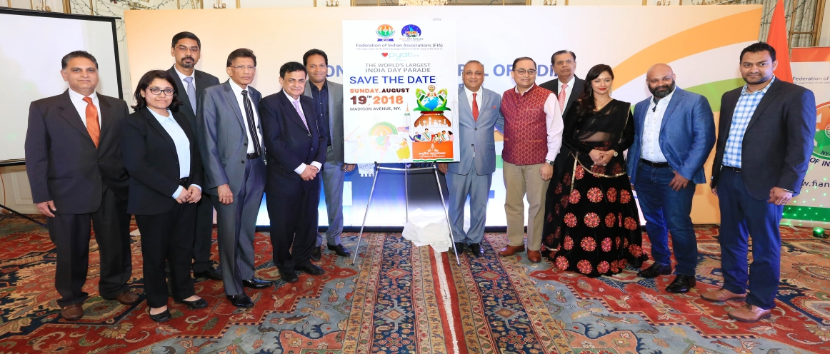 Curtain Raiser Ceremony of the 38th India Day Parade held at the Consulate on June 28, 2018