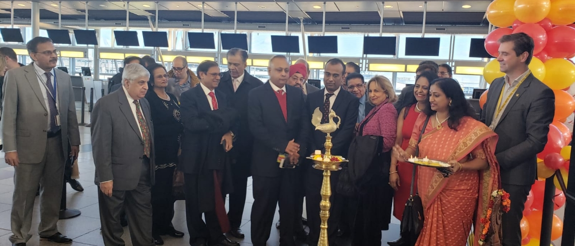 Launch of Air India Nonstop Flight (New York – Mumbai) on Dec 7, 2018