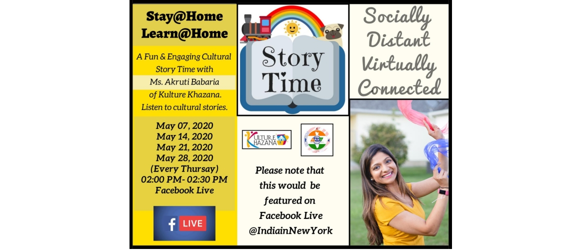 Facebook Live - Story Time Session with Akruti Babaria (Kulture Khazana)