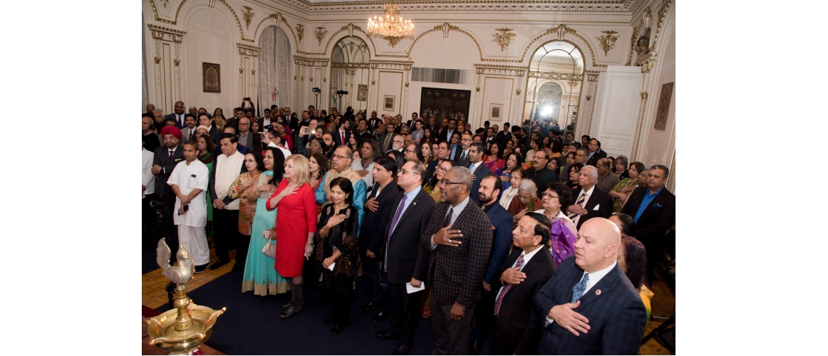 India's Republic Day Reception at Consulate General of India, New York