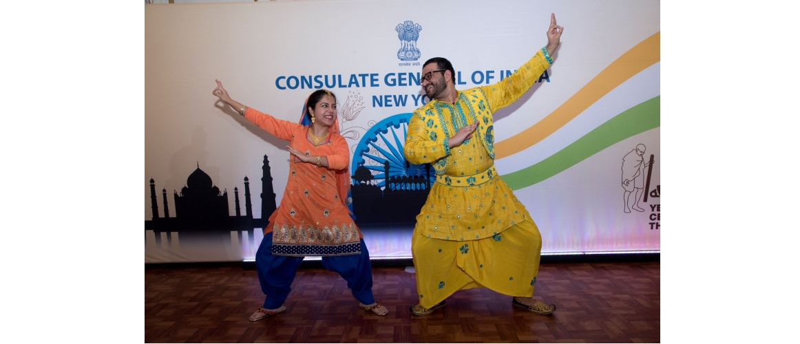 Cultural performance by Karishma Gulati & Anupam Dev Goel on the occasion of 70th Republic Day of India