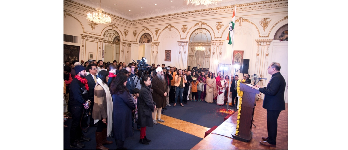 70<sup>th</sup> Republic Day Celebrations at Consulate General of India, New York