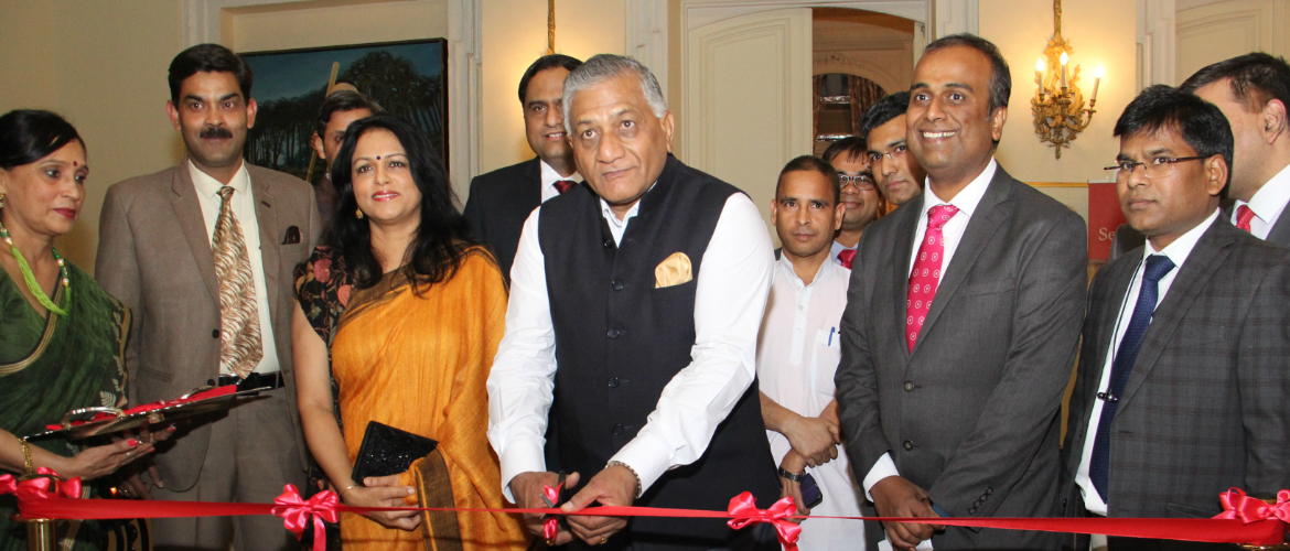 Global Launch of Passport Seva Program by General (Dr) Vijay Kumar Singh (Retd), Hon'ble Minister of State for External Affairs on Nov 21, 2018