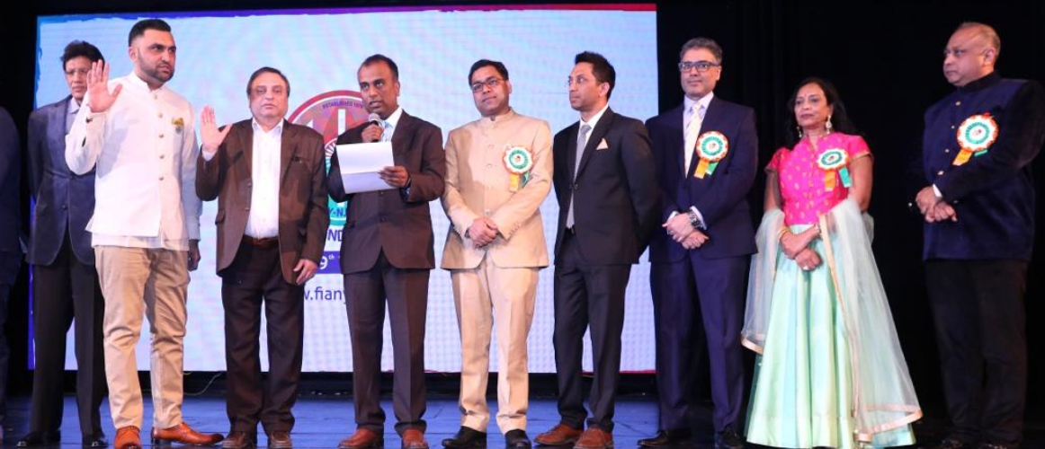 Federation of Indian Associations (FIA) celebrated 70th Republic Day of India