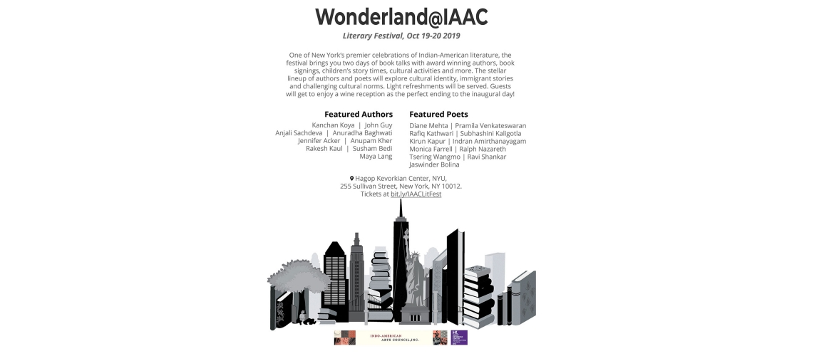 Wonderland@IAAC - The Literary Festival
