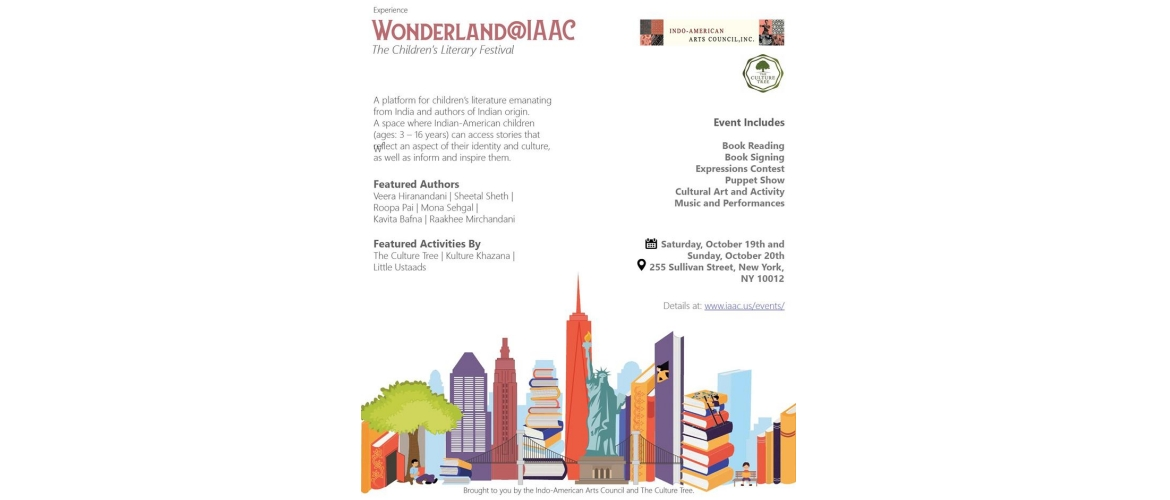 Wonderland@IAAC : The Children's Literary Festival